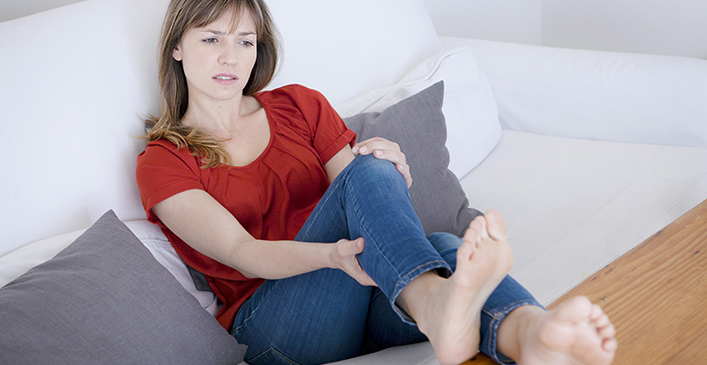 Leg Pain with Swelling