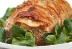 Spicy Meatloaf Wrapped in Bacon