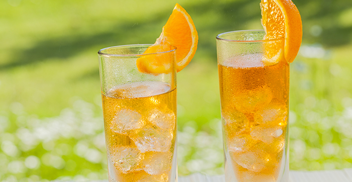 Pineapple Orange Spritzer