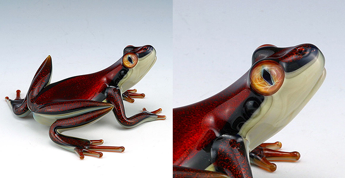 Red Dichroic Frog Quantum Eye Technique