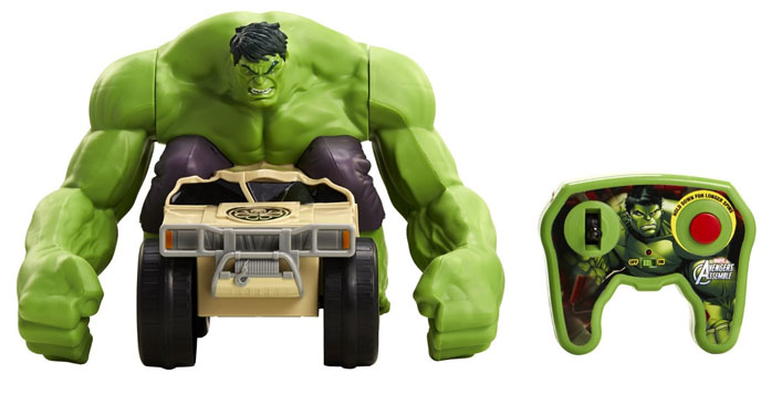 RC Hulk Smash Toy Vehicle