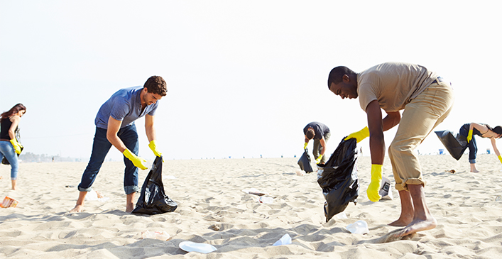 Attend a Beach Cleanup