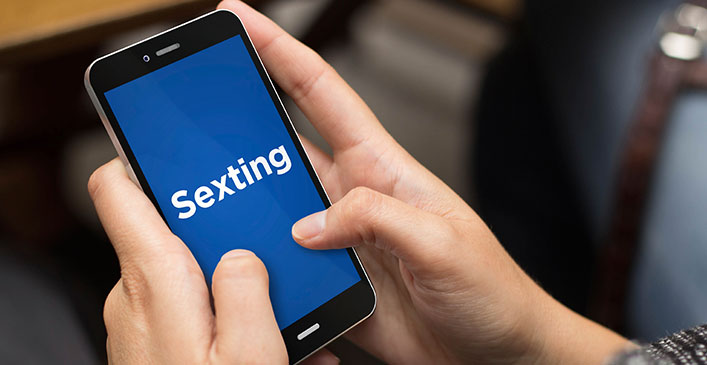 It May Be Used for Sexting