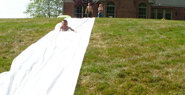 DIY Slip N' Slide