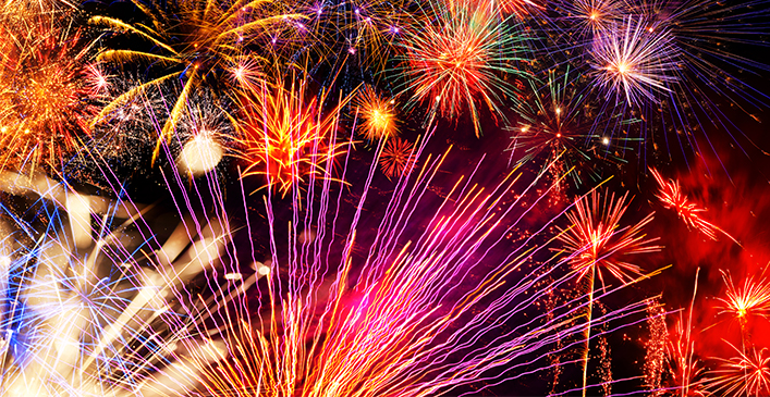 Watch a Local Fireworks Display